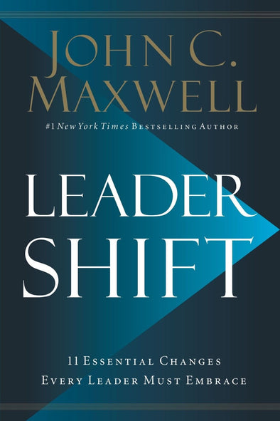 Leadershift The 11 Essential by John C Maxwell Motivational Hardcover NEW 9780718098506