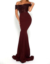 Portia Scarlett Diamond Gown Burgundy