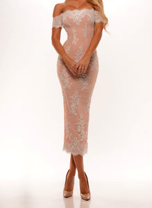 Portia & Scarlett Elizabeth Dress Blush