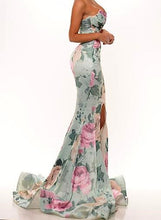 Portia & Scarlett Stella Gown with Split Floral