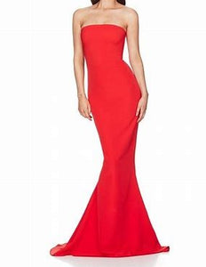 Nookie Angelina Gown Cherry
