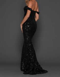 Elle Zeitoune Harris Gown Black