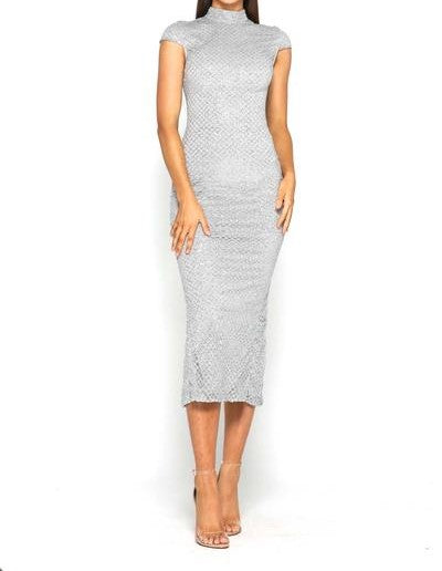 Jondon Honey Dress Silver