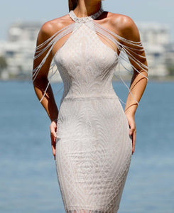 Portia & Scarlett Lily Gown Ivory/Nude