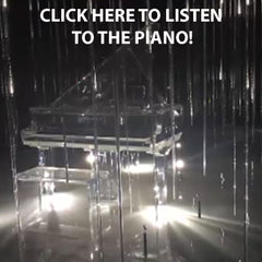 crystal player piano
