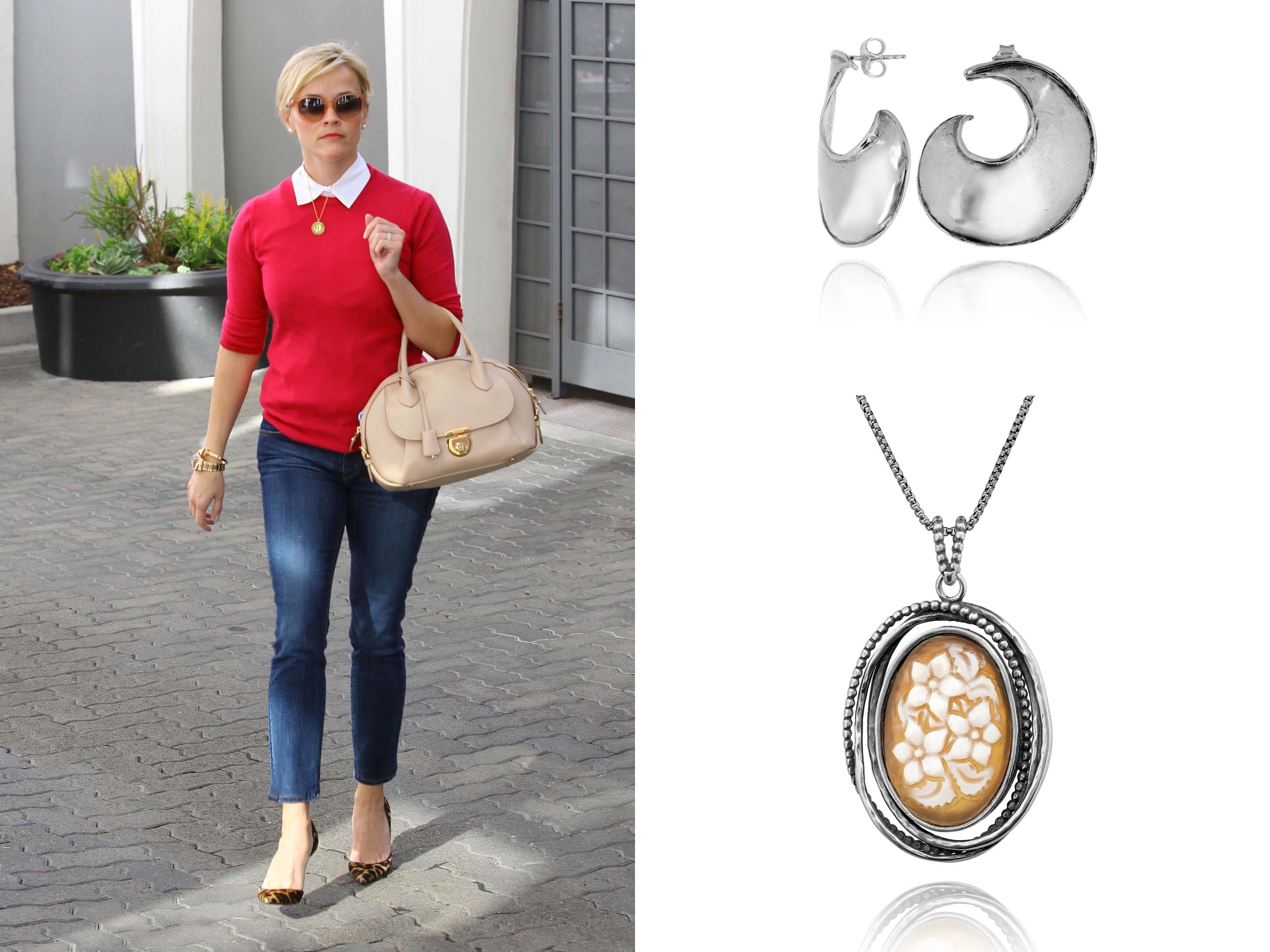 paz creations cameo necklace reese witherspoon