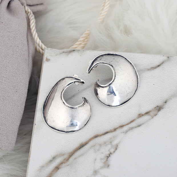 Sterling Silver Stud Earrings  - Paz Creations Jewelry