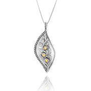 Sterling Silver Gemstone Pendant  - Paz Creations Jewelry
