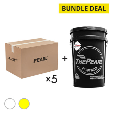 February Bundle: 5 Pearl LT 100 Count Cases + 1 Pearl X Bucket Free