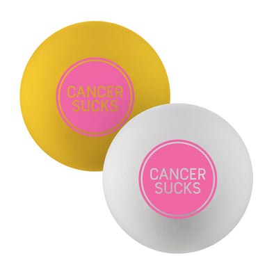 October Breast Cancer Awareness - Pearl X Lacrosse Balls