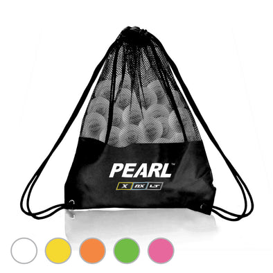 PEARL LT Lacrosse balls are the first textured lacrosse balls approved for game play.  Available in neon colors - pink, green, orange, yellow and white.  Meets NOCSAE, NFHS, and NCAA standards and is SEI certified for gameplay. Official ball of US Lacrosse, Team USA, IMLCA, and MCLA