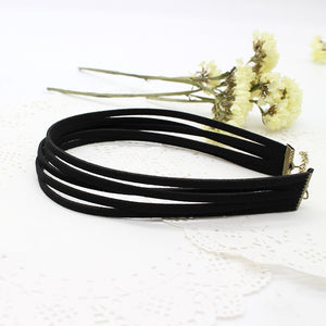 Multi-layered Velvet Choker
