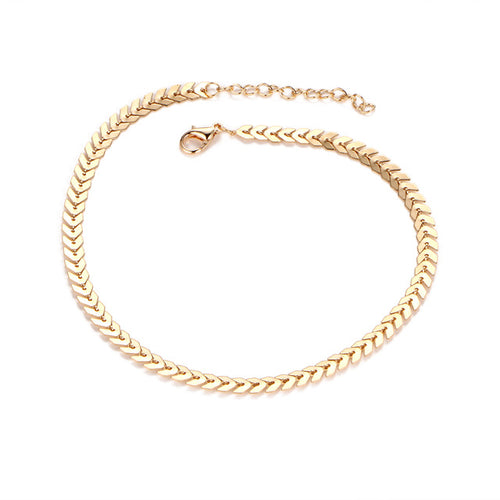 Short Arrow Chain Choker