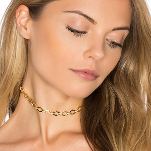 Diamond Shaped Link Choker