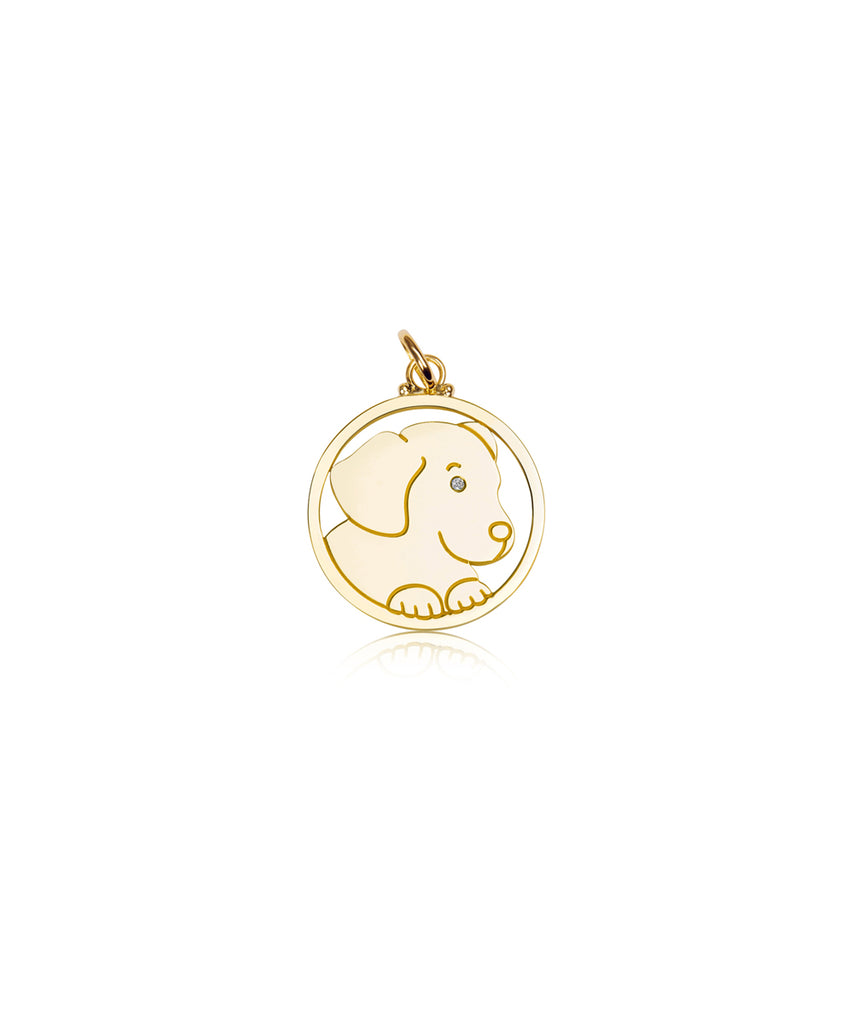 Small Dog Pendant