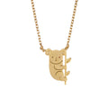 Rebecca Jewelry Koala Bear Necklace Gold.jpg