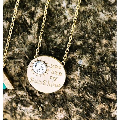 You are My Sunshine Necklace Wholesale
