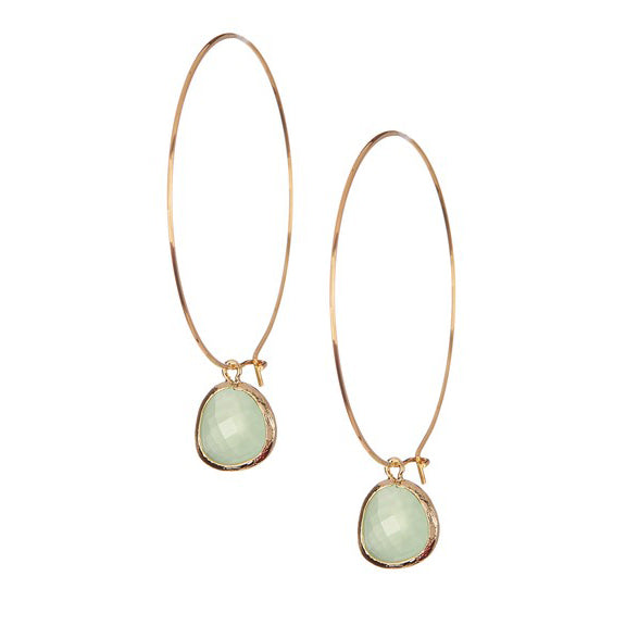 Rebecca Jewelry Large Hoop Gemstone Earring.jpg