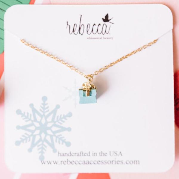 Blue Gift Necklace