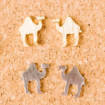 Camel Post Earring