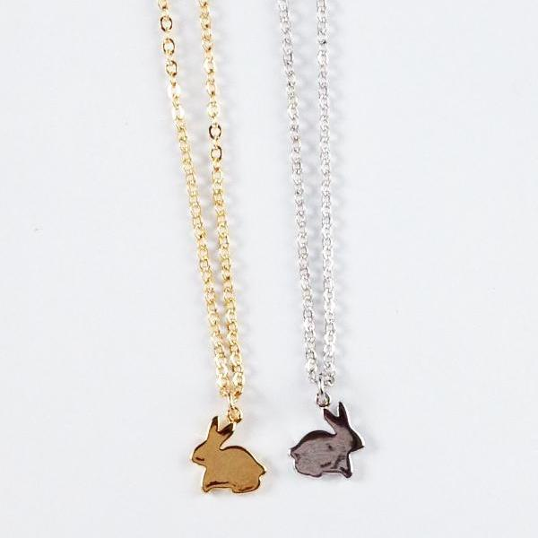 Bunny Flat Necklace Wholesale