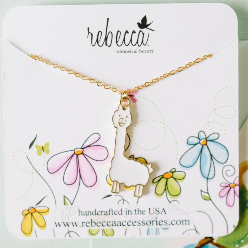 Llama Necklace Wholesale