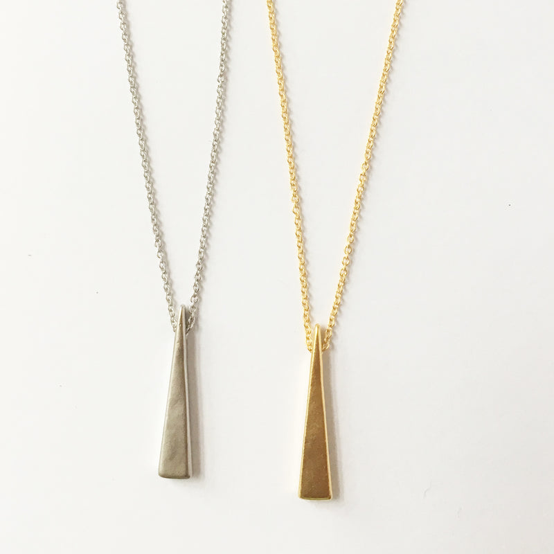 Long Triangle Necklace Wholesale