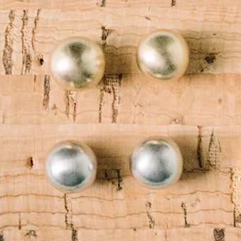 Metallic Button Studs Wholesale