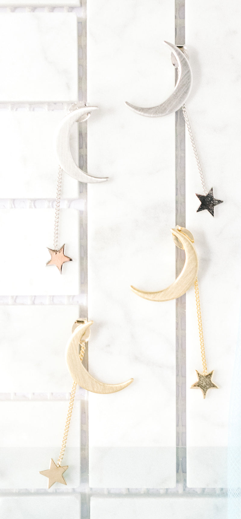 Moon and Falling Star Post