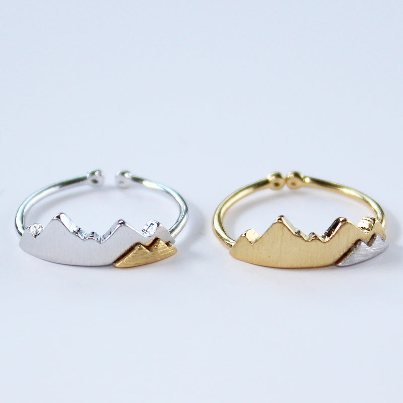 Mountain Two Tone Ring Wholesale