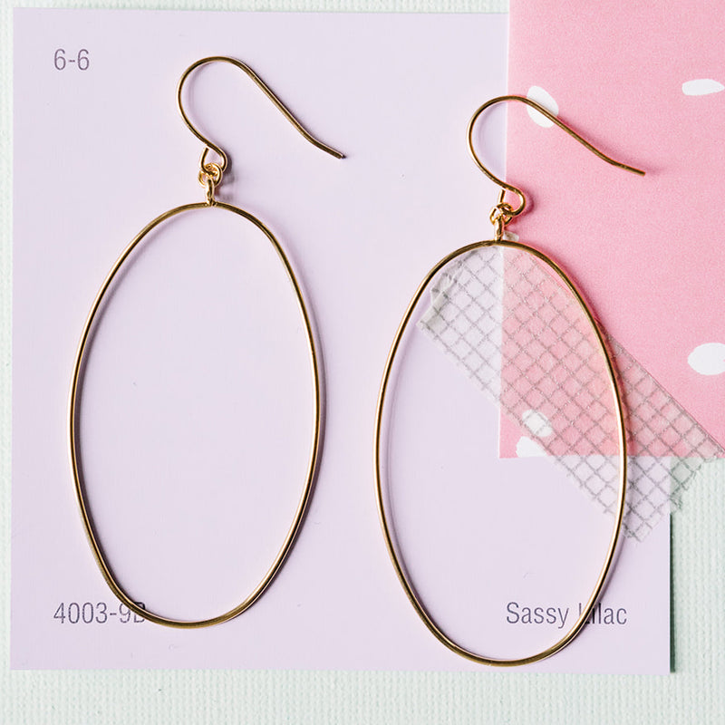Oval Drop Dangle Wholesale