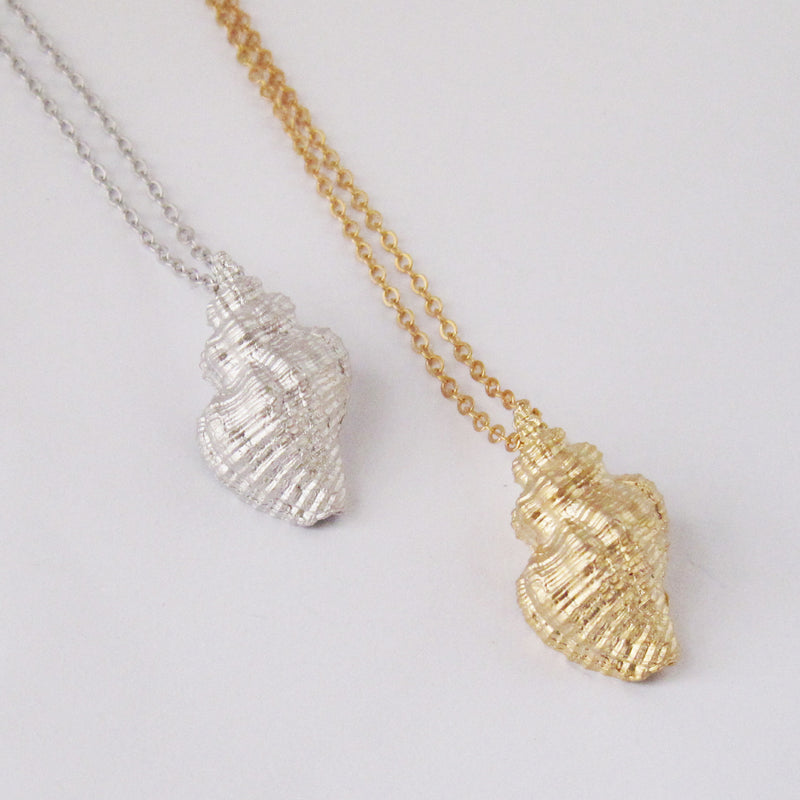 Oyster Drill Shell Necklace Wholesale
