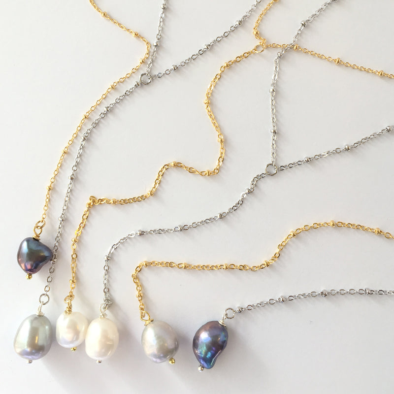 Pearl Y Necklace Wholesale