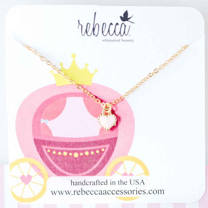 Pink Heart Necklace Wholesale