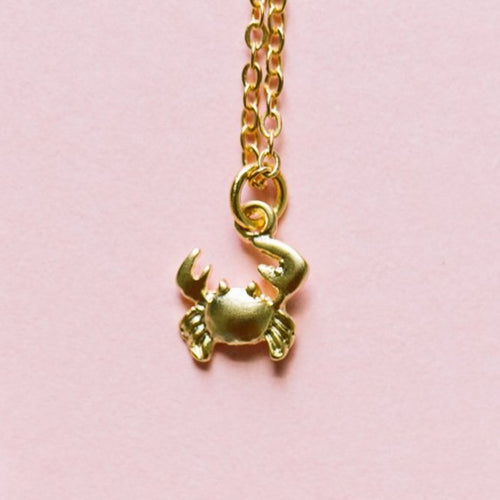 Crab Mini Necklace