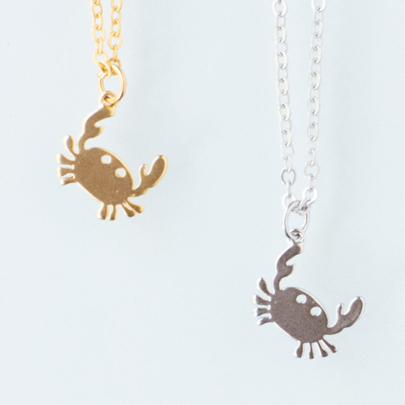 Crab Snapping Necklace