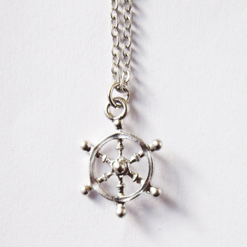 Sailboat Wheel Necklace Wholesale