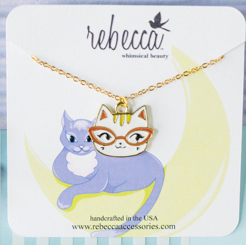 Smarty Cat Necklace
