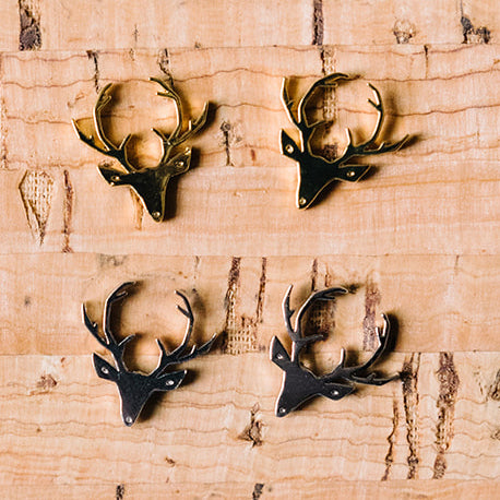 Stag Post Earring Wholesale