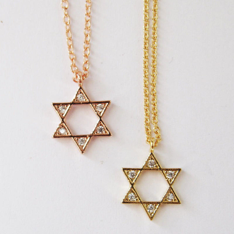 Star of David Necklace Wholsale