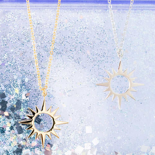 Sun Burst Large Necklace
