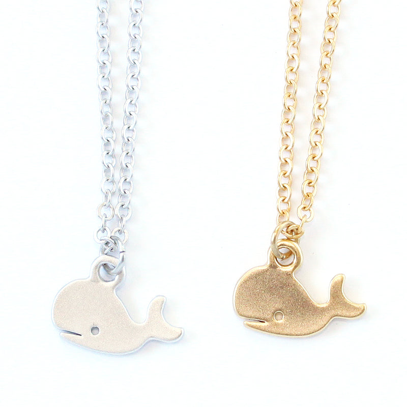 Mini Whale Necklace Wholesale