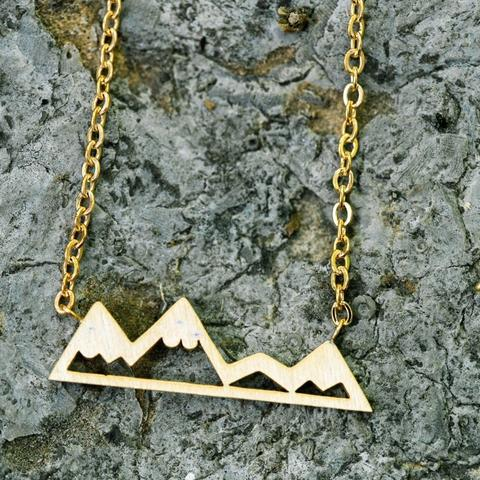 Mountain Range Necklace Wholesale