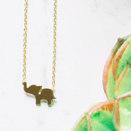 Elephant Luck Necklace Wholesale
