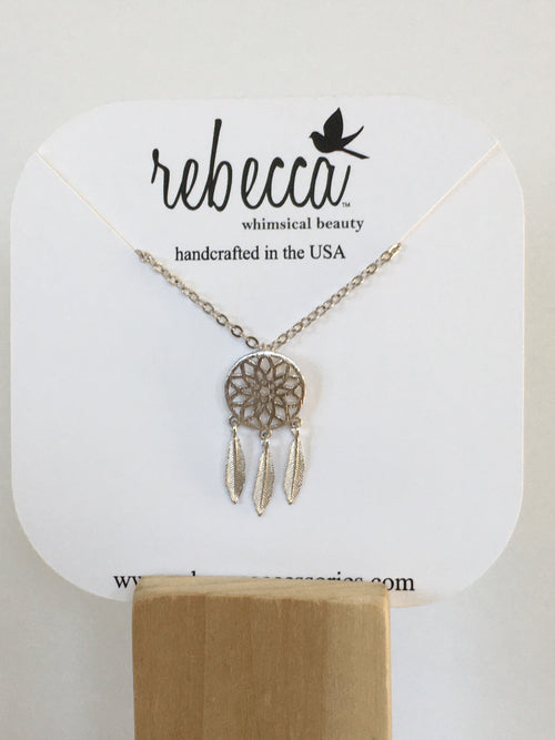 Large Dreamcatcher Necklace