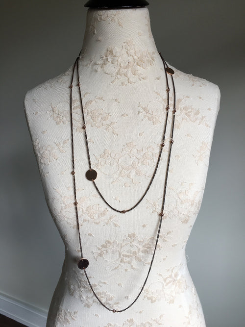Extra Long Layering Necklace