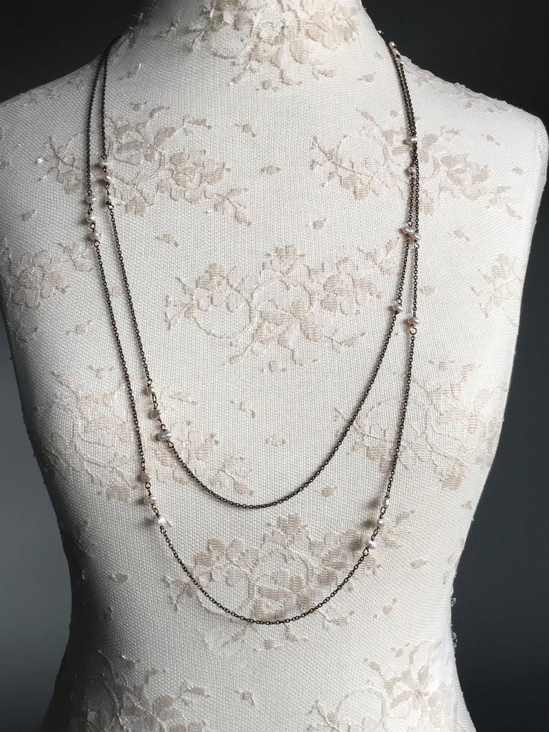 Pearl Extra Long Necklace