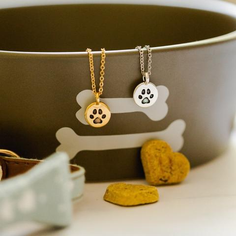 Paw Print Necklace Wholesale