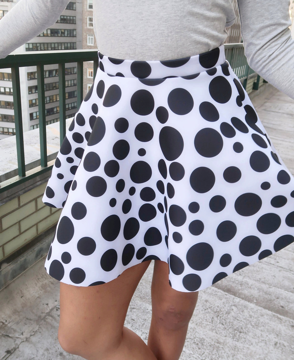 Mini Swing Printed Skirt