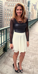 Urban Mesh Mini Swing Skirt